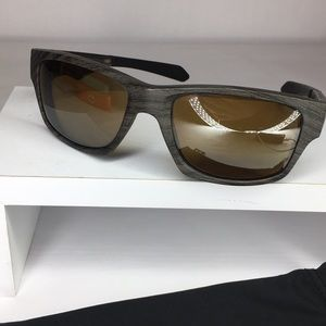 Oakley Jupiter Squared Polar Tungsten Sunglasses